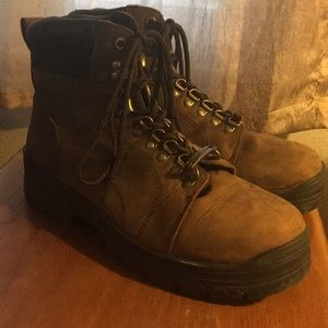 Old Mill Steel Toe Work Boots Men's Size 9M